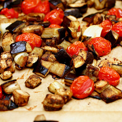 rigatoni with eggplant puree – Bountiful Baskets Blog