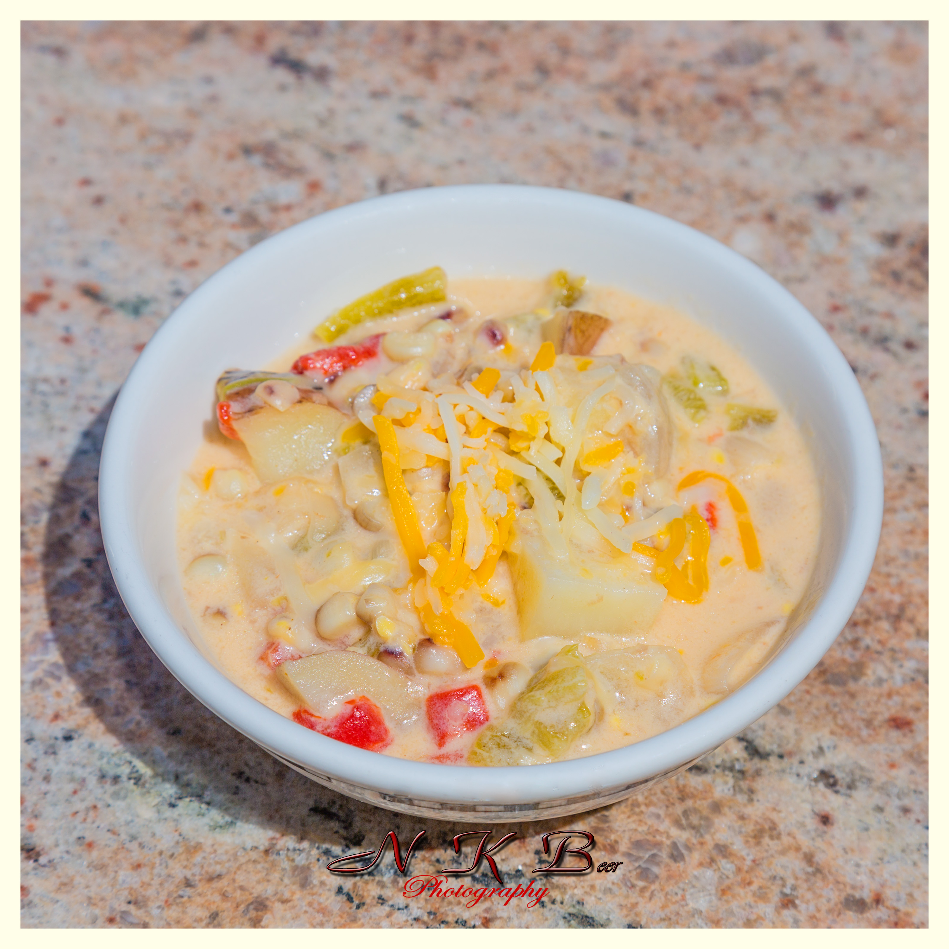 Creamy Green Chile Corn Chowder