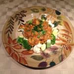 Chicken Tikka Masala over veggies