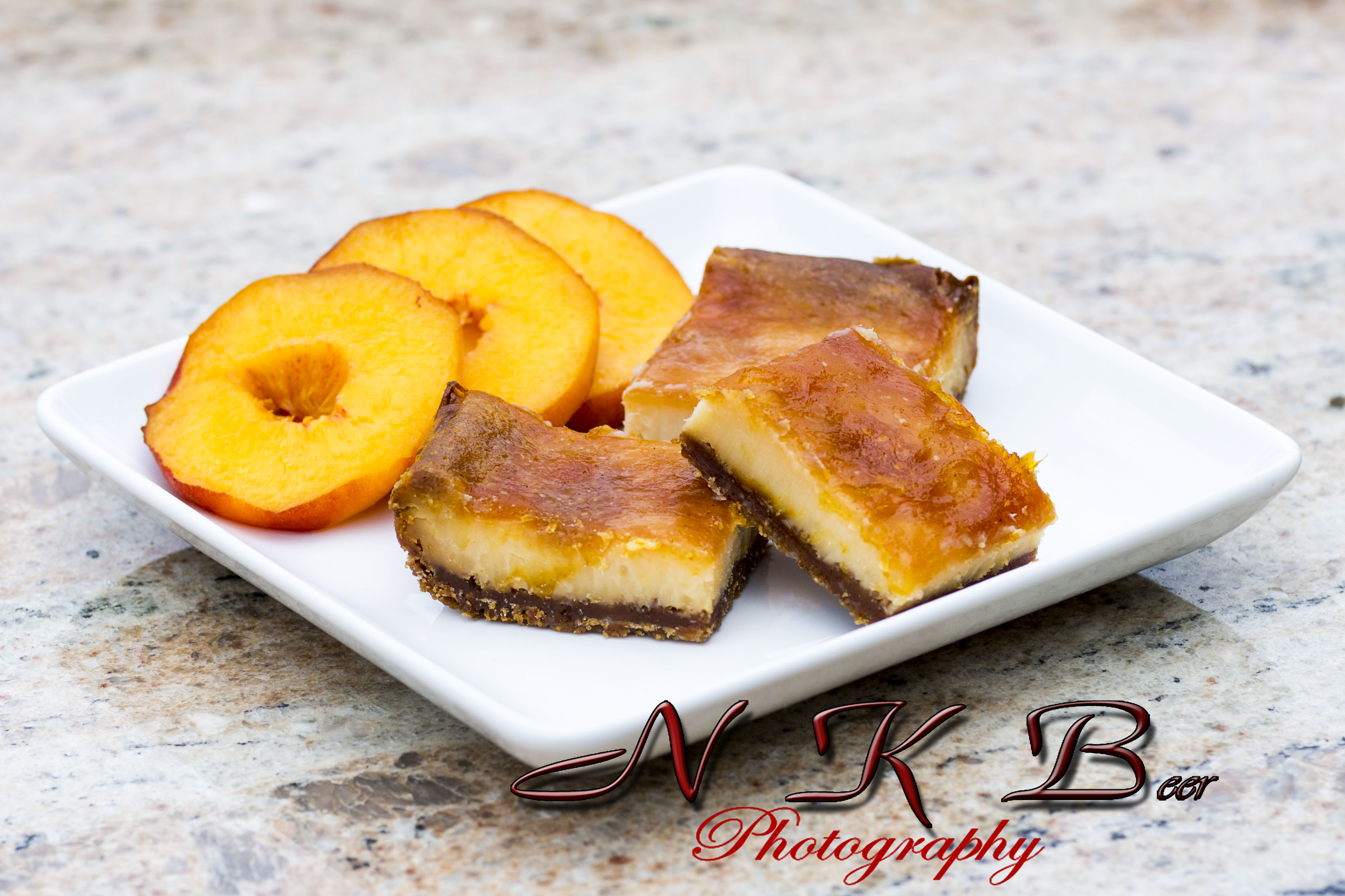 Peach Pie Cheesecake