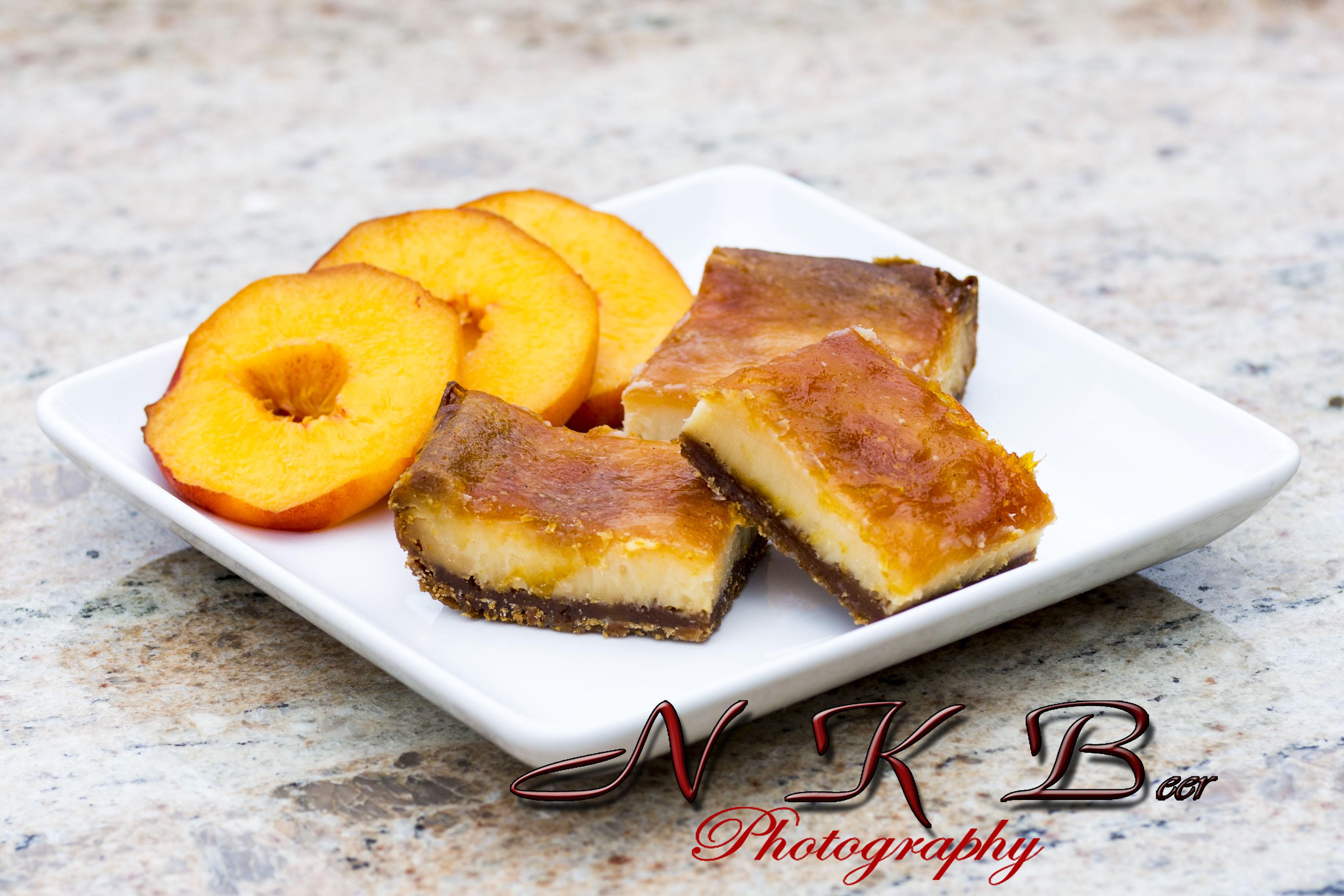 Peach Pie Cheesecake