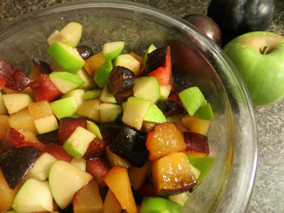 Lunch Box Pack Fruit Salad