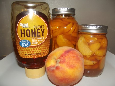 The best and easiest home canned peaches ever!