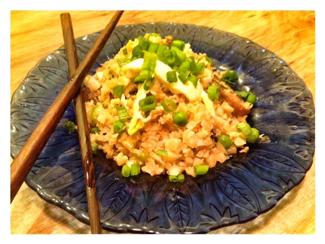 Egg Cauliflower Fried Rice