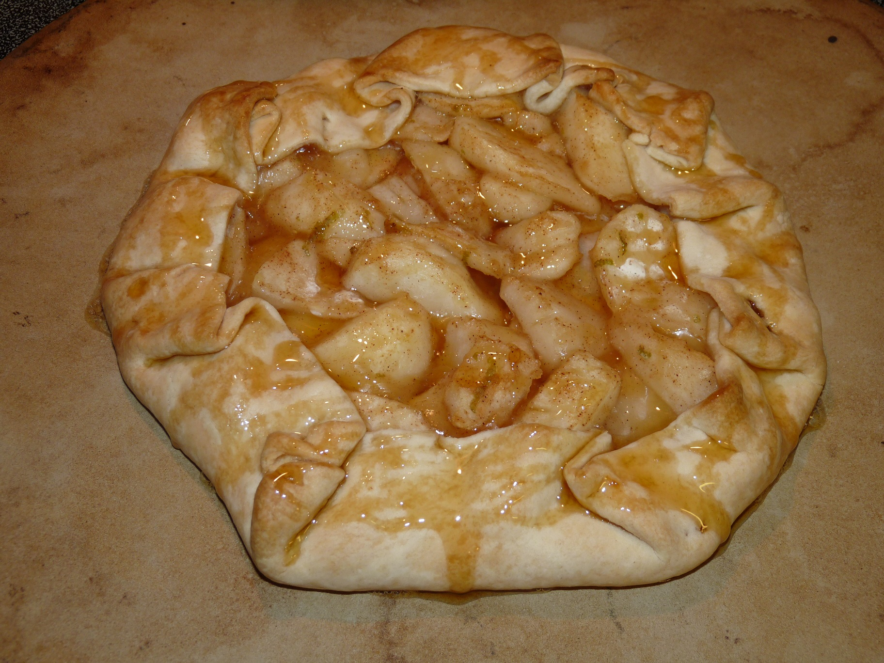 Country Lime- Pear Tart