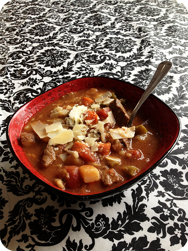 Beef Stew {it's good for the soul}