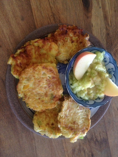 Summer Squash Chile Fritter-cakes