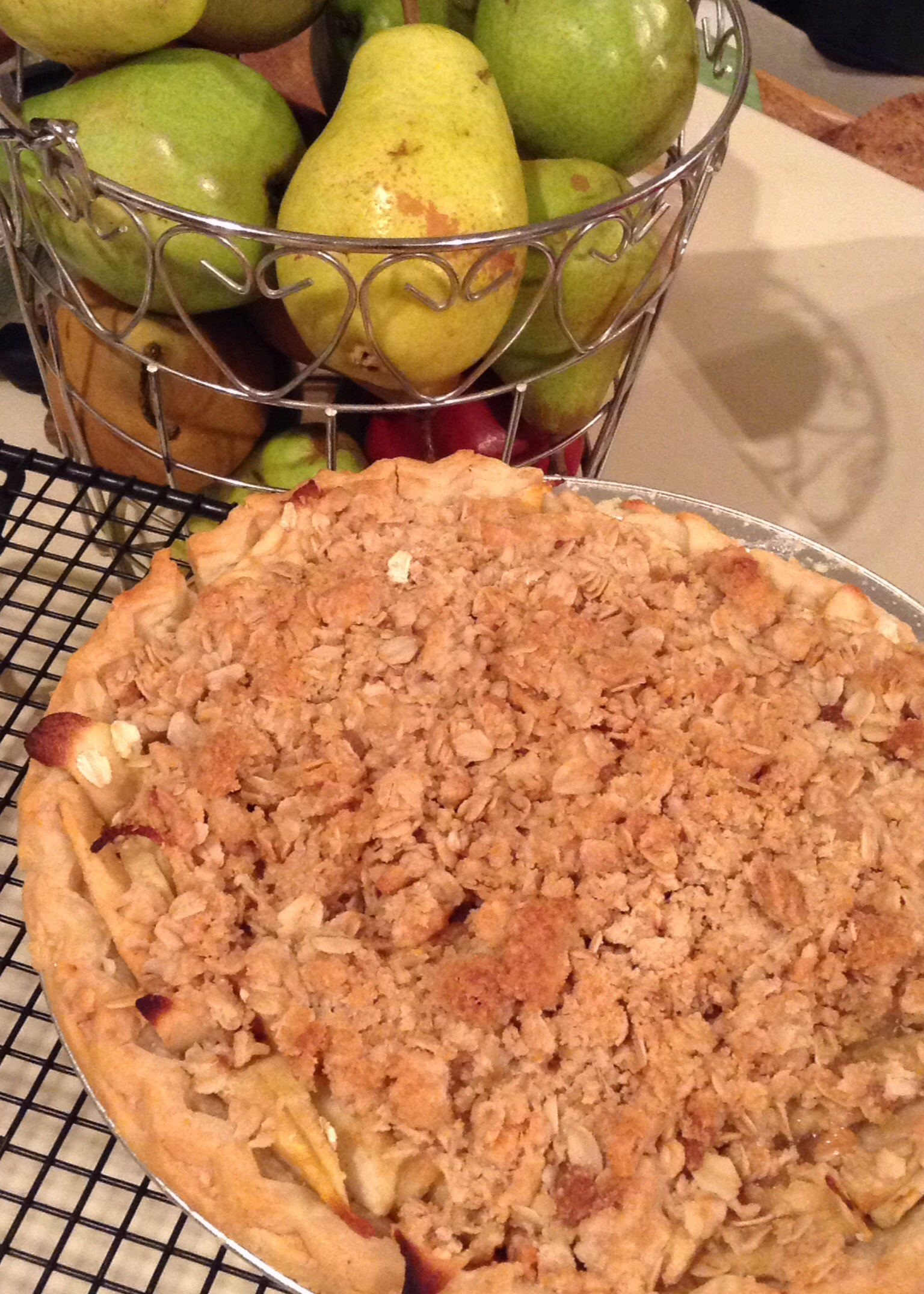 Pear-Apple Crumble