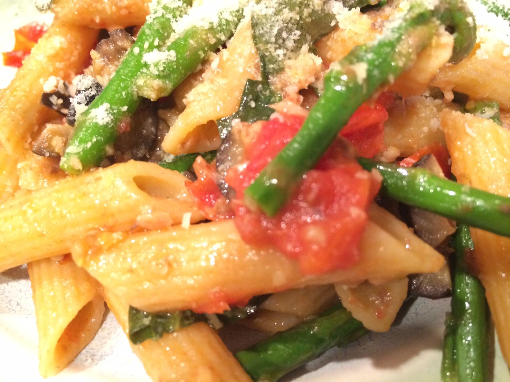 Asparagus and Sardine Pasta