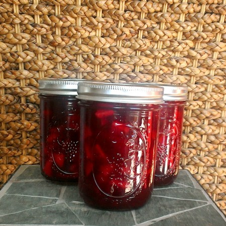 Apple Cranberry Preserves