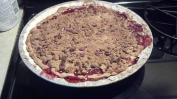 Cranberry Apple Pie Crumble