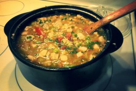 Chicken Stew with Salsa Verde