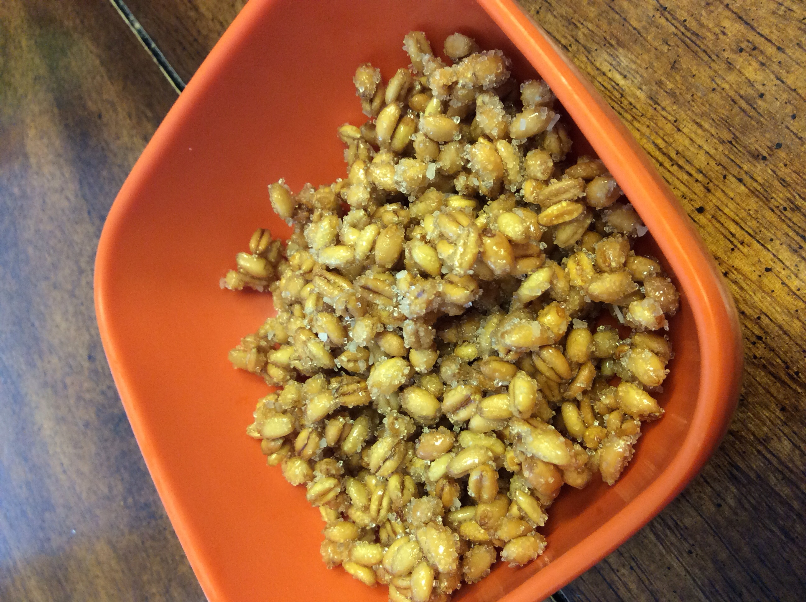 Sweet Wheat Berry Snacks