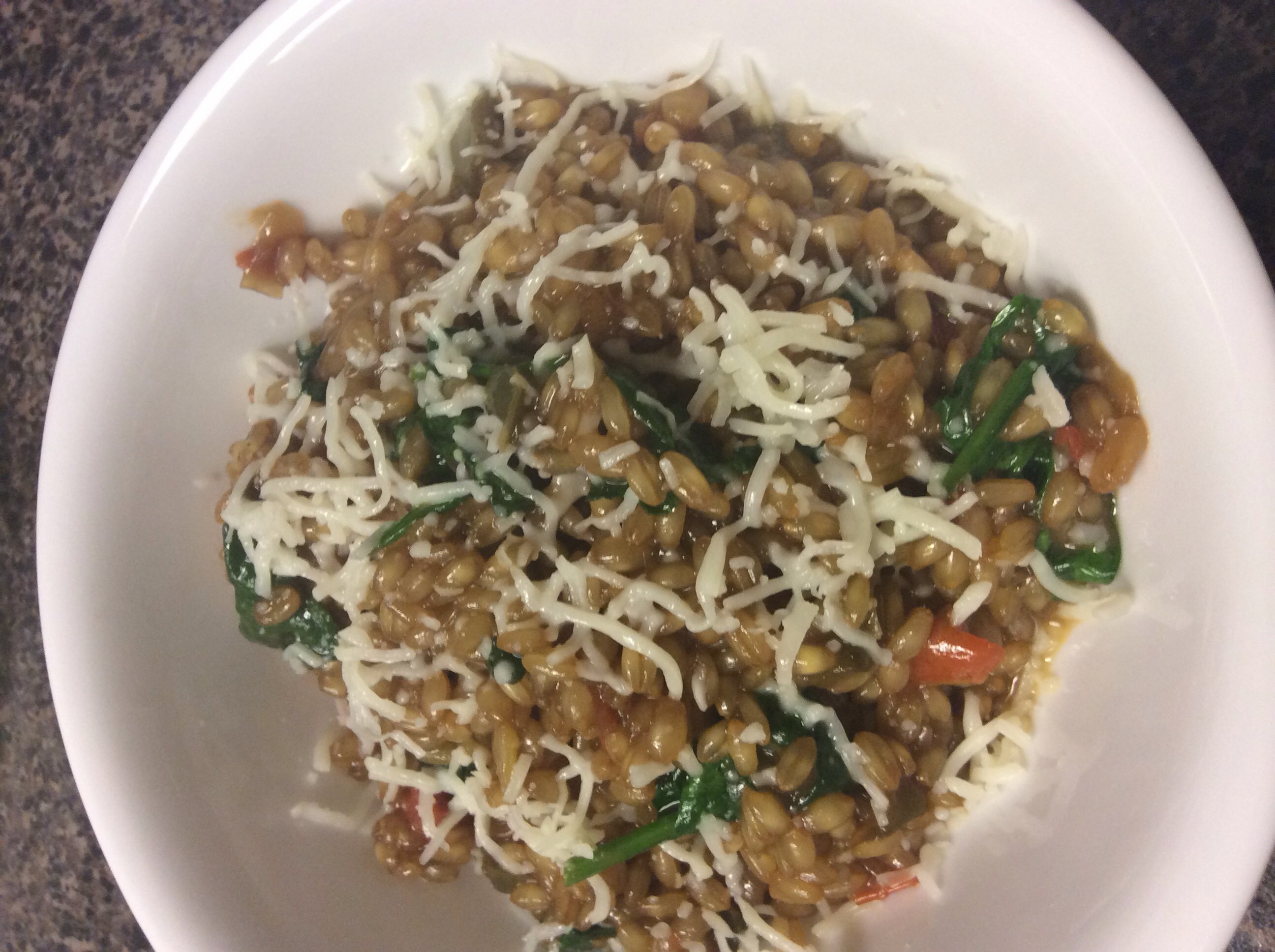 Wheat Berry Risotto