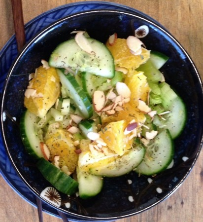 cuke salad bowl