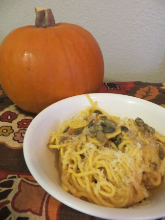 Easy Peasy Pumpkin Pasta