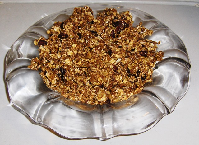 Homemade Fig Granola or Bars