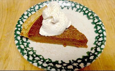 Butternut Squash Pie 1